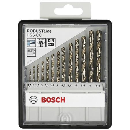 Купить Набор сверл по металлу Bosch Robust Line HSS-Co 2607019926