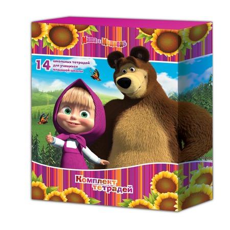 Купить Комплект тетрадей Маша и Медведь 21481