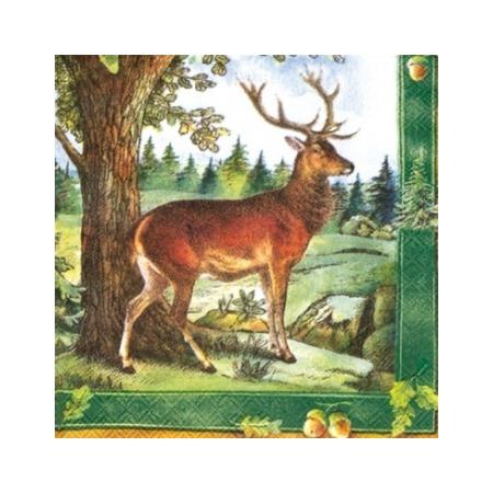 Купить Салфетки бумажные для декупажа IHR «В лесу»