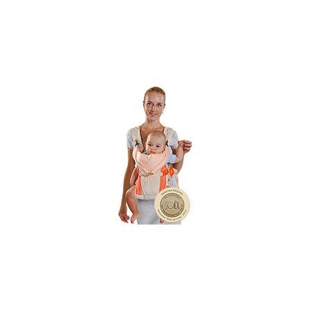 Купить Рюкзак-кенгуру BabyActive Lux, бежево-оранжевый