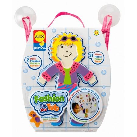 Купить Набор фигурок-стикеров для ванны ALEX «Одень куклу»