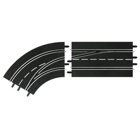 Купить Дополнения к треку Carrera «Поворот слева со сменой полосы с внешней на внутреннюю»