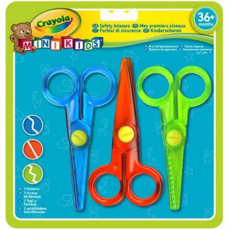 Купить Набор безопасных ножниц Crayola