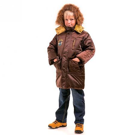 Купить Куртка детская для мальчика Sp-Show ЯВ115054. Цвет: коричневый