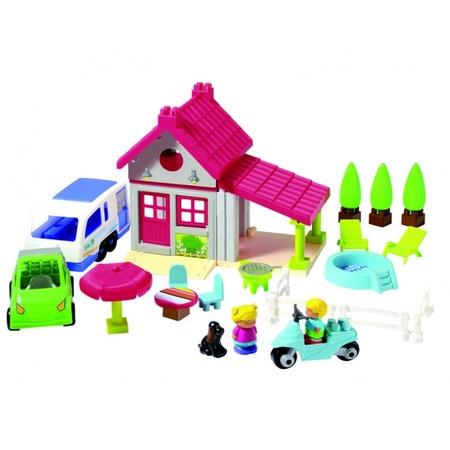 Купить Конструктор Ecoiffier «Загородный дом»