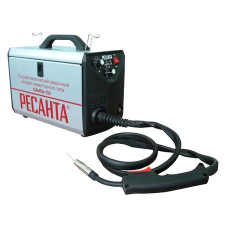 Купить Сварочный аппарат инверторный полуавтоматический Ресанта САИПА-135