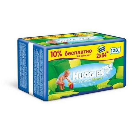 Купить Салфетки влажные - сменный блок HUGGIES Comfort Natural