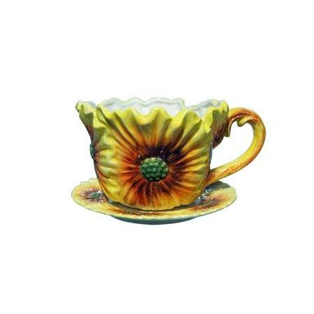 Купить Кашпо декоративное Valenсia «Цветок герберы»