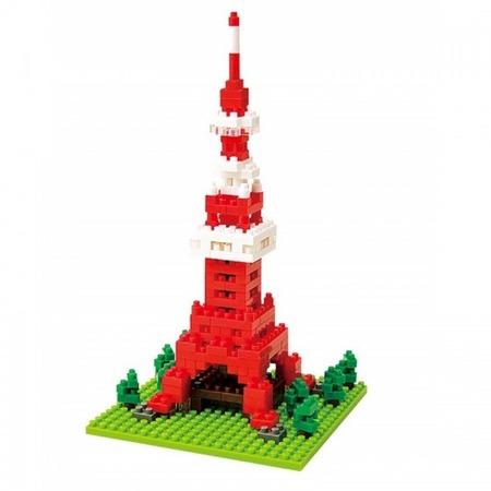 Купить Мини-конструктор Nanoblock «Телебашня Tokyo Tower»