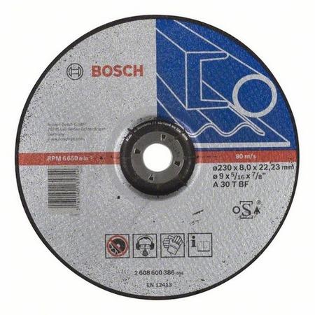 Купить Диск обдирочный Bosch Expert for Metal 2608600386