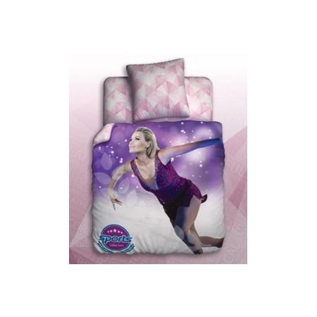 Купить Комплект постельного белья Unison Figure Skating. 1,5-спальный