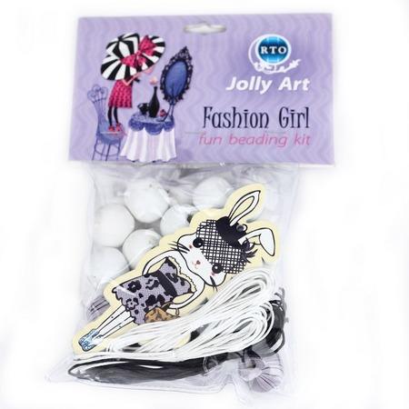 Купить Набор для создания украшений из бусин RTO «Fashion Girl 3»