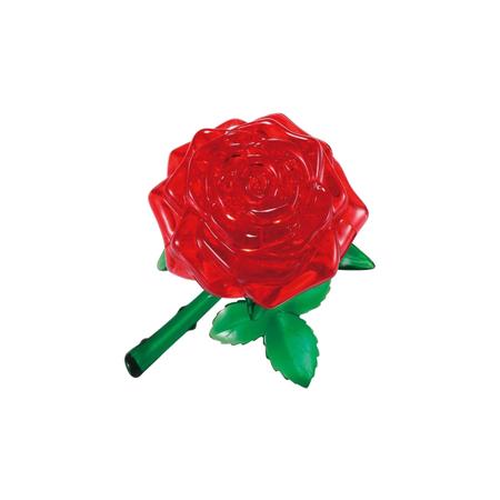 Купить Кристальный пазл 3D Crystal Puzzle «Роза красная»