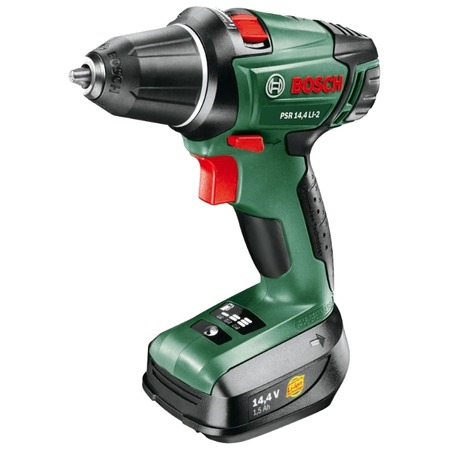 Купить Дрель-шуруповерт аккумуляторная Bosch PSR 14,4-2 (1 аккумулятор)
