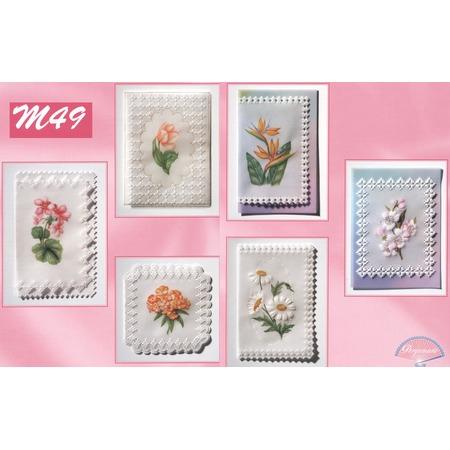 Купить Набор схем для парчмента Pergamano M49 Парад цветов