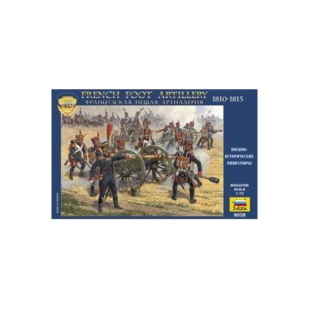Купить Миниатюра Звезда Французская пешая артиллерия 1812 года