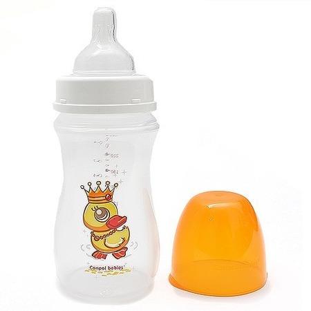 Купить Бутылочка для кормления CANPOL EasyStart с широким горлышком, 240 мл