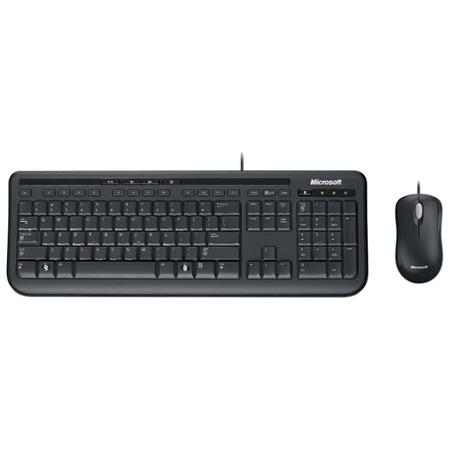 Купить Клавиатура с мышью Microsoft Wired Desktop 600