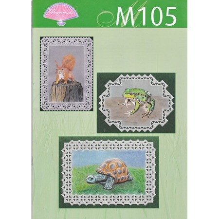 Купить Набор схем для парчмента Pergamano M105 Лесные животные