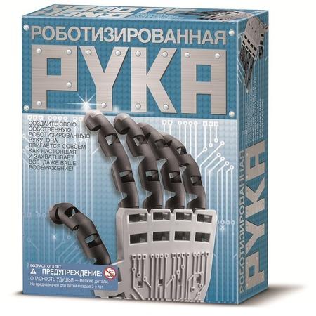 Купить Набор для изобретателей 4M «Роботизированная рука»