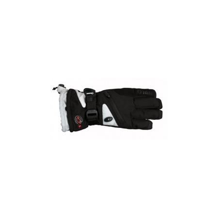 Купить Перчатки горнолыжные GLANCE Fighter (2013-14). Цвет: черный, серый