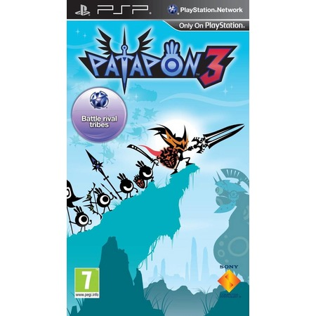 Купить Игра для ps SONY Portable Patapon 3. Essentials (rus)