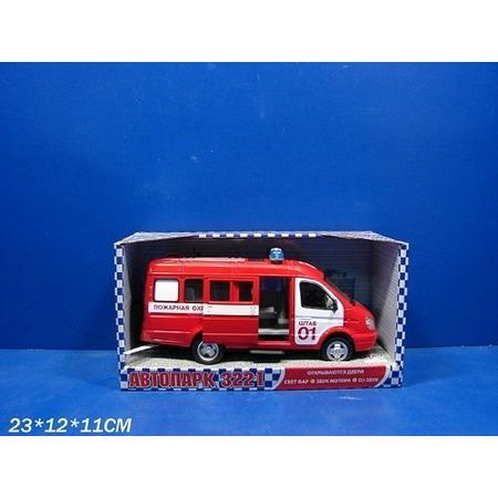 Купить Машина инерционная Joy Toy «Газель 3221 Пожарная» Р40526