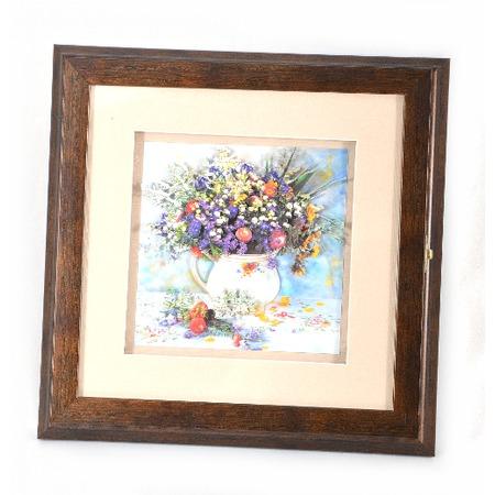 Купить Ключница 3D «Полевые цветы» СА-0012/4