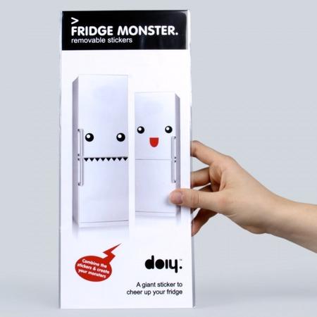 Купить Набор наклеек на холодильник Doiy Fridge Monster
