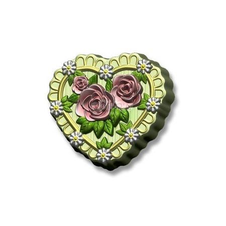 Купить Форма пластиковая Выдумщики «Сердце в розах»