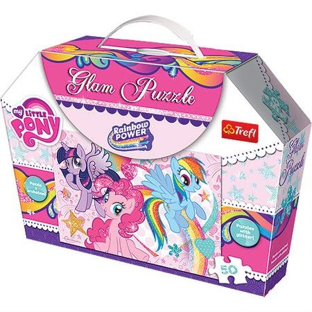 Купить Пазл 50 элементов Trefl «Мои маленькие пони-Гламур»