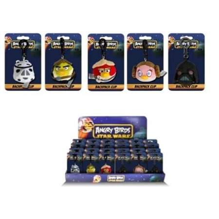 Купить Игрушка-подвеска мягкая Angry Birds 93158. В ассортименте