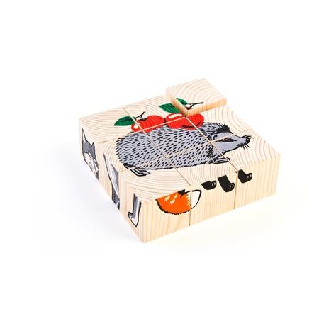Купить Кубики Томик «Животные леса»