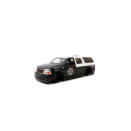 Купить Модель автомобиля 1:24 Jada Toys Yukon Denali XL Police 2002