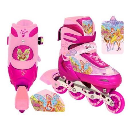 Купить Роликовые коньки детские раздвижные Next WINX