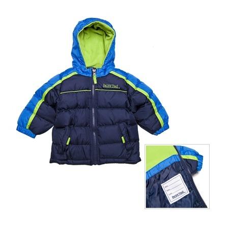 Купить Куртка утеплённая с капюшоном PacificTrail Спайдер-navy