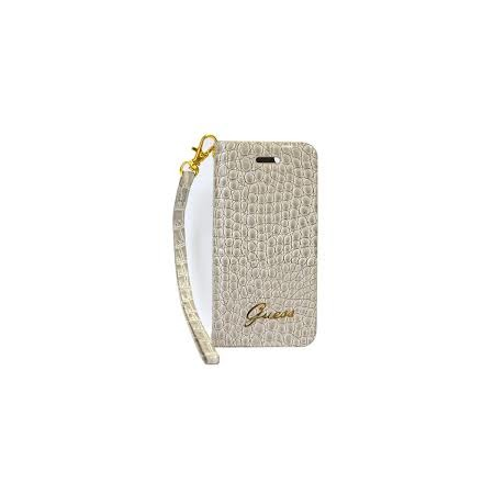 Купить Чехол Guess Wallet Case Croco для iPhone 5