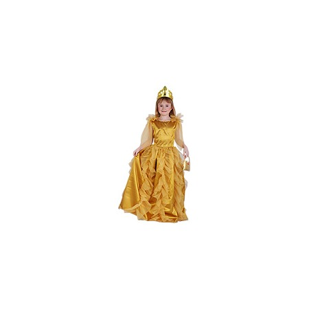 Купить Принцесса золотая, рост 140