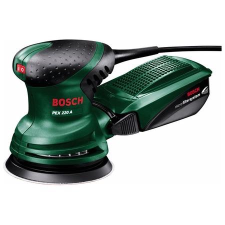 Купить Машина шлифовальная эксцентриковая Bosch PEX 220 A