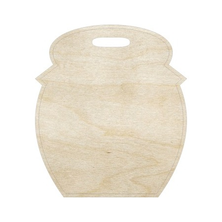 Купить Доска сувенирная деревянная Ars Hobby «Бочонок»