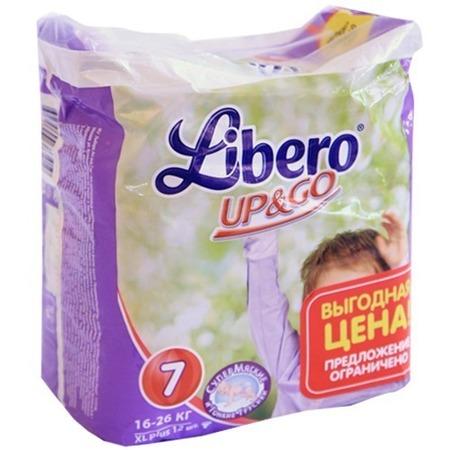 Купить Трусики детские LIBERO UP&GO Extra Large+