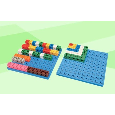 Купить Конструктор развивающий Gigo «Занимательные кубики» доска для набора
