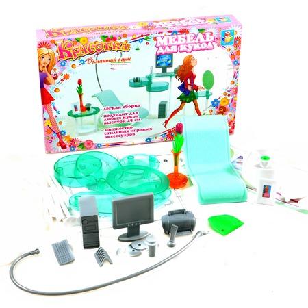 Купить Набор мебели для кукол 1 TOY «Домашний офис»