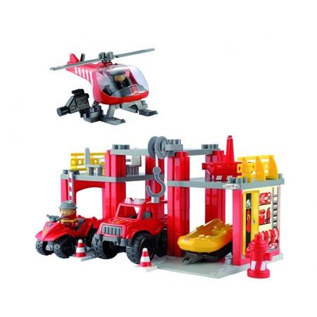 Купить Конструктор Ecoiffier «Станция спасательной техники»