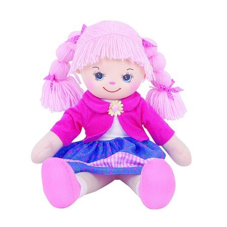 Купить Мягкая кукла Gulliver Земляничка с двумя косичками. В ассортименте