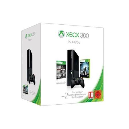 Купить Консоль игровая Microsoft Xbox 360 Stingray 250 Gb и игры Halo 4/Tomb Raider