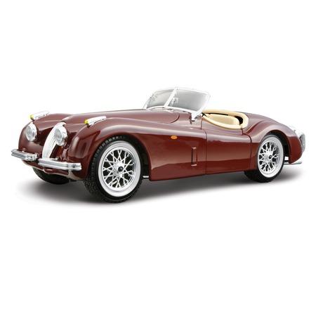 Купить Модель автомобиля 1:24 Bburago Jaguar XK 120 Roadster. В ассортименте