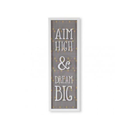 Купить Декор для стен Umbra Aim High & Dream Big