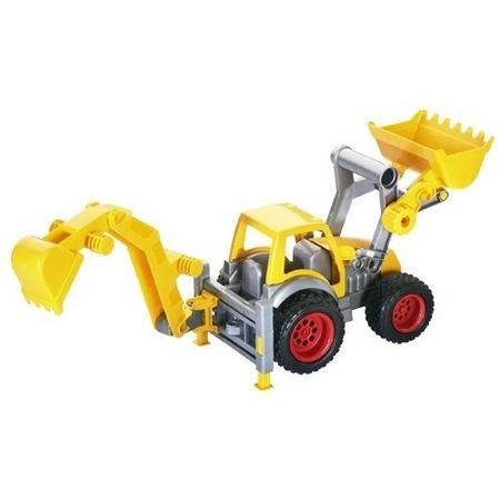 Купить Трактор-погрузчик Wader «КонсТрак» с ковшом