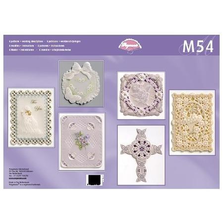 Купить Набор схем для парчмента Pergamano M54 Классические дизайны